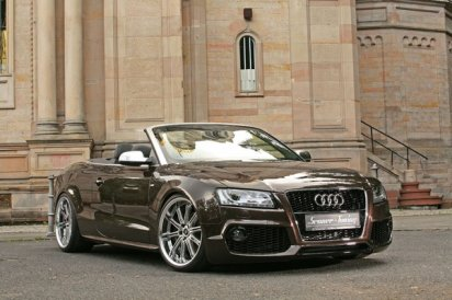 Audi A5 Cabriolet by Senner