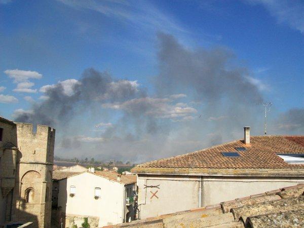 incendie autour de Loupian (suite 9)