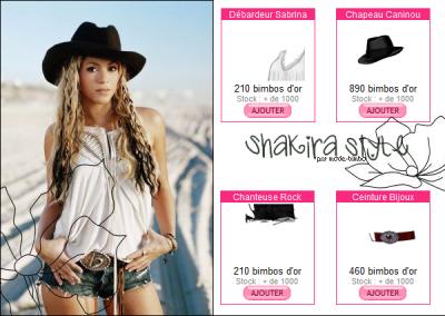 Shakira style !