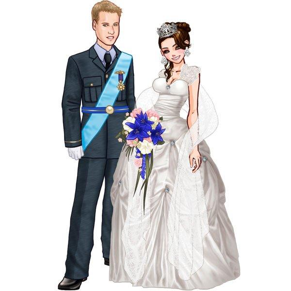 Le mariage princier ! est aussi sur Mabimbo.fr