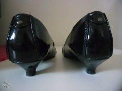 Ballerines/Escarpins noirs taille 38 Marque Esprit