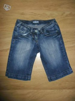Bermuda en jeans Mim taille 34-36
