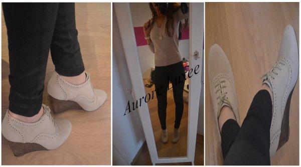 Pull, Chaussures