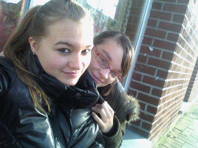 moi et ma meilleure amie <3