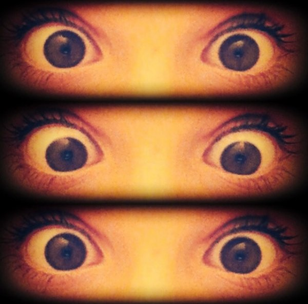 Mes yeux 👌😵