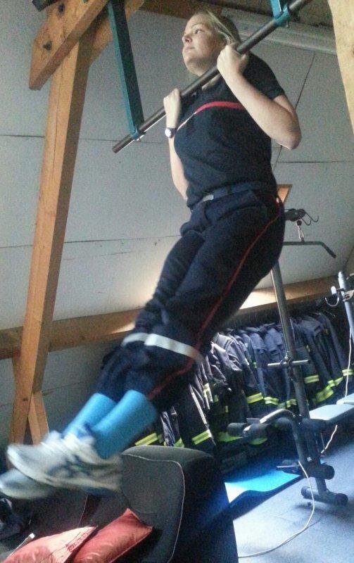 Patient est le pompier quand y commence en bas de l'échelle ♥