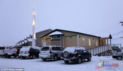 1ére mosquée au pôle nord