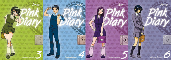 Pink Diary (T3) à (T6) de Jenny ♥(EM)