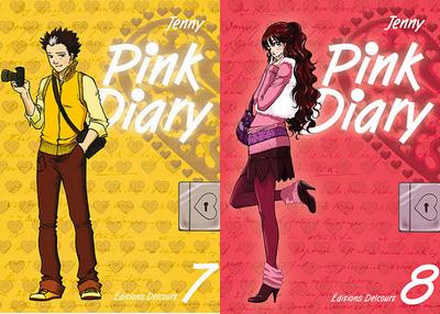 Pink Diary (T7) et (T8) de Jenny ♥(EM)