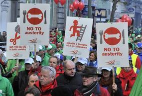 La colère monte contre l'austérité, mais les dirigeants font les sourds
