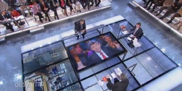 Plus de 3,3 millions de téléspectateurs ont suivi Jean-Luc Mélenchon sur France 2