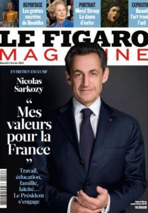 Nicolas Sarkozy peaufine sa candidature réac et antisociale