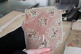 Un fleuron du textile aux enchères