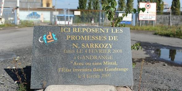 Florange : nouvelle attaque contre les syndicats de Sarkozy