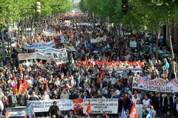 Cinq syndicats appellent à une forte journée de mobilisation le 1er mai
