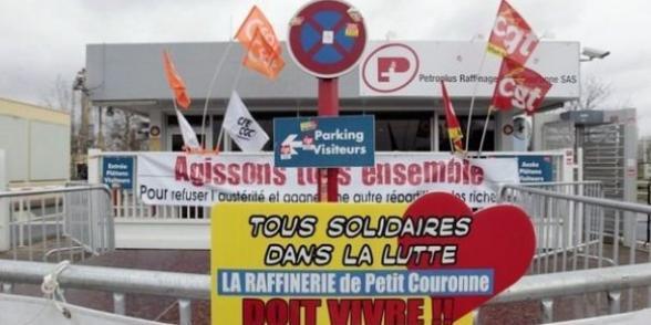 """Les salariés de Petroplus mettent la main sur le """"trésor de guerre"""""""