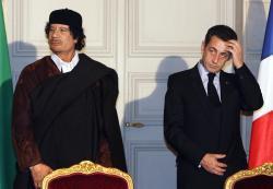 Sarkozy-Kadhafi: lapreuve du financement
