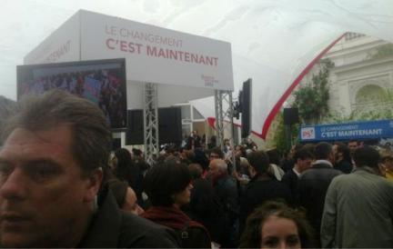 """François Hollande à la Bastille: """"J'ai entendu votre volonté de changement"""""""