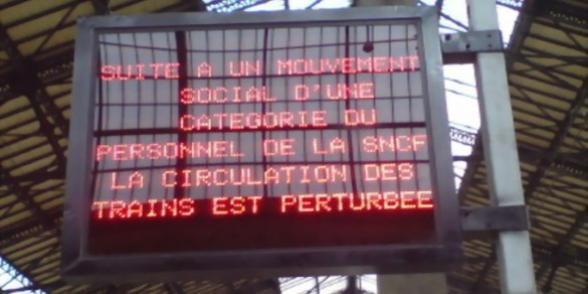 """SNCF : La CGT dénonce une politique """"indigne d'une entreprise publique de service public"""""""