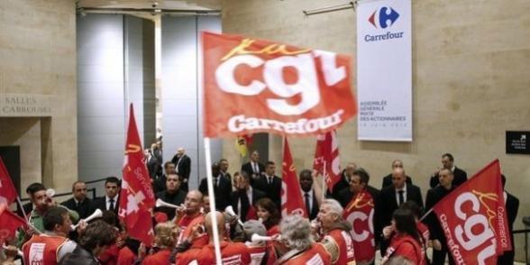 Le malaise des salariés de Carrefour s'invite à l'assemblée générale des actionnaires