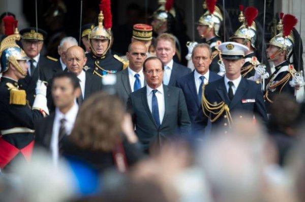 Libération de Paris: Hollande se revendique de l'héritage et des valeurs de la Résistance