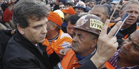 """Gandrange: l'Etat veut faire plier ArcelorMittal, """"sans garantie"""""""