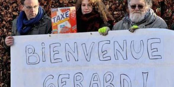Exil de Depardieu : la gauche belge aussi veut faire payer les riches!
