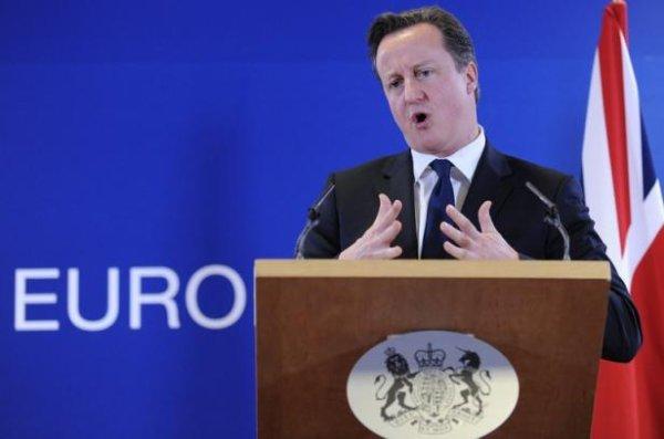 David Cameron promet un référendum sur le maintiendans l'Union européenne