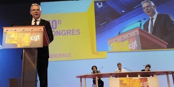Congrès CGT en direct: Thierry Lepaon élu secrétaire général
