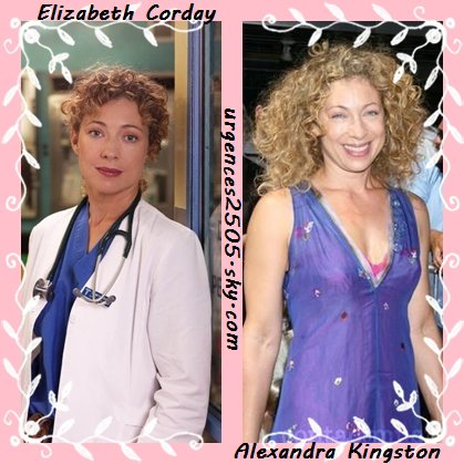 Elizabeth Corday/ Alex Kingston
