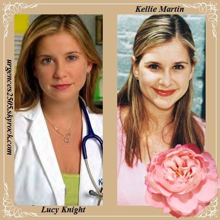 Lucie Knight/ Kellie Martin
