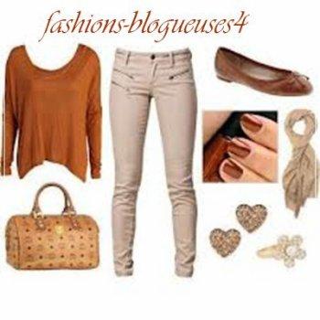 Tenue swagg marron!