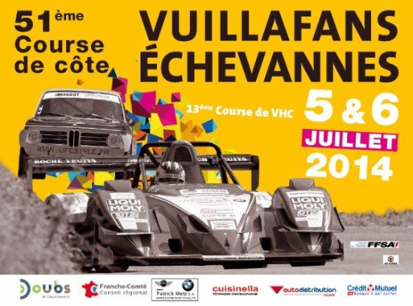 course de côte de vuillafans echevanes (25) les 5 et 6 juillet 2014