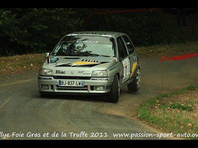 Rallye de Thiviers -> rallye mouvementé !!!!
