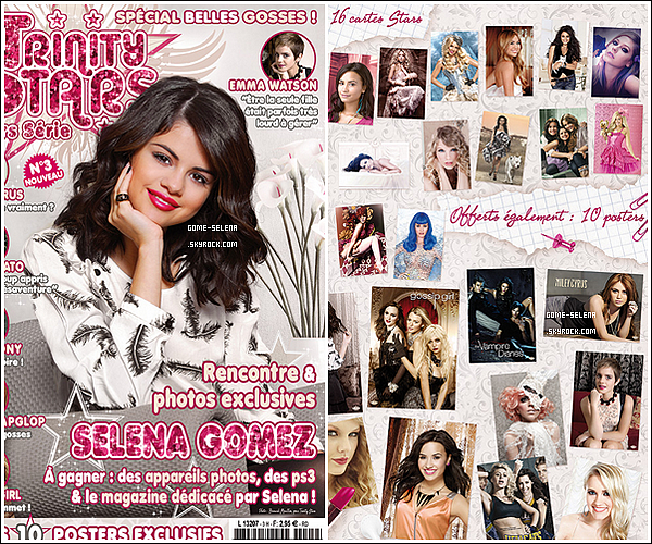 REMARQUE ♦  J. et S. ont une bonne foulée mais ils ne risquent pas de semer les paparazzis très longtemps !   Ainsi que deux nouveaux scans de Selena du magazine Trinity Stars de Décembre-Janvier 2011.