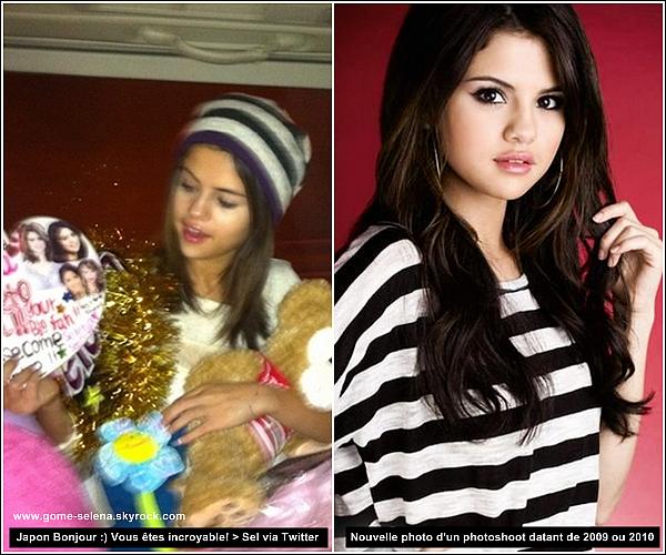 """Candids    * 19 février à 5H30 du matin : Comme je vous l'ai dit dans l'article ci-dessous, Selena est bel et bien arrivé au Japon, à l'aéroport de Haneda à Tokyo. Selly à rencontré beaucoup de fans Japonais (plus de 200!) avec des cadeaux différents, des panneaux """"Bienvenue au Japon"""", ect..."""