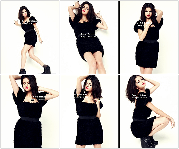 Nouvelles photos de notre jolie Selena Gomez pour le magazine SUGAR ♥♥