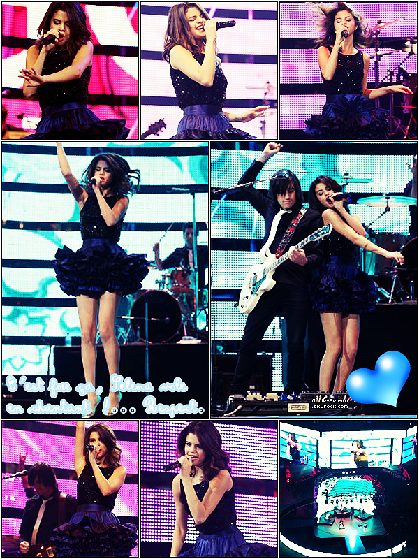 06/03/11 - Encore un concert pour notre brunette avec son groupe à Houston au Texas.