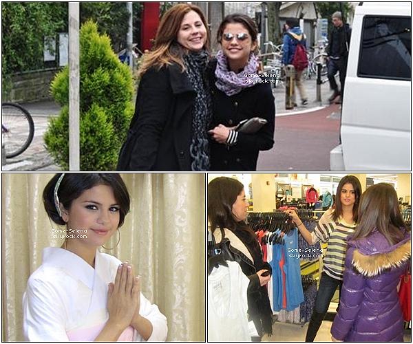 14 mars 2011 : Aperçue : Selena avec un paquet de chips à l'hôtel PLAZA de New York. + trois nouvelles photos personnelles dont deux avec Bella Thorne.