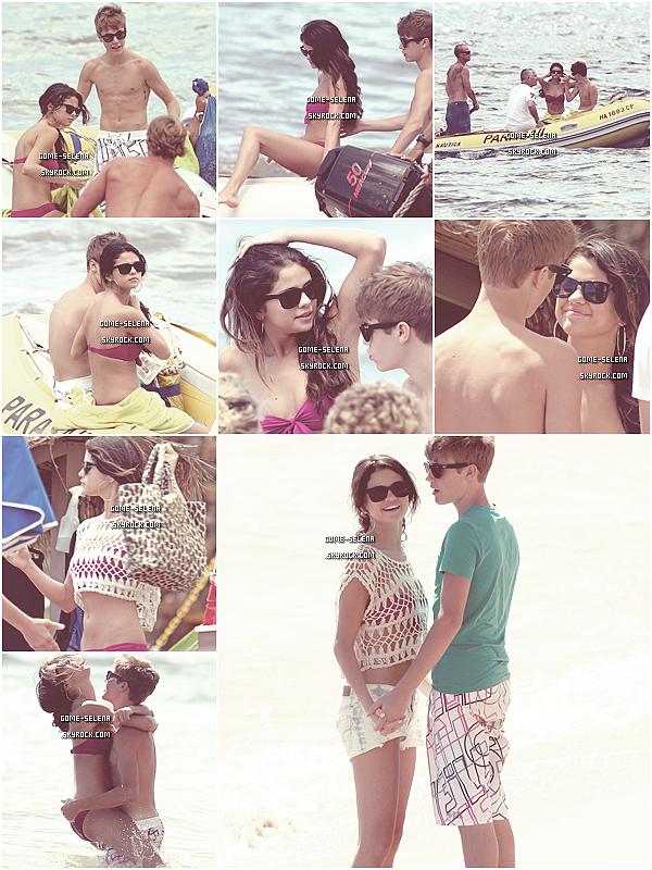 Vamos a la playa, A mi me gusta bailar, el ritmo de la noche, sounds of fiestaaaaa ♪     26/05/11 : La belle et la bête alias Selena Gomez & Justin Bieber ont été vues s'amusant comme des gamins à la page de Maui à Hawaii... De plus en plus tactile ces deux-là !