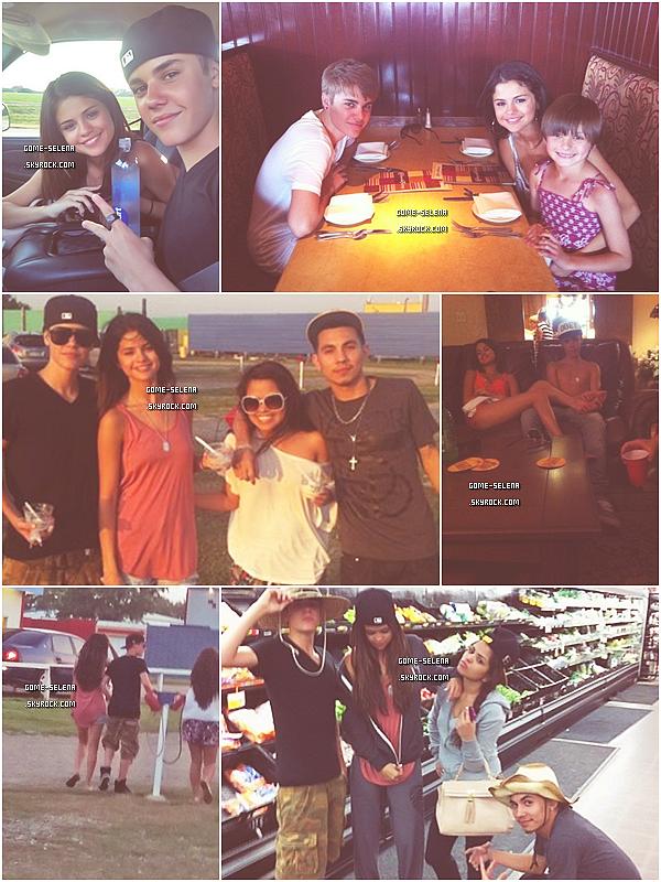 Farewell Hawaii executive Texas!     29/05/11 : Pleins de news de Jelena, encore ! Ils ont été vues faisant du shopping à Arlington - elle est bien contente la Selena, sa doit être Bieber qui doit payer  ;) - au Texas.