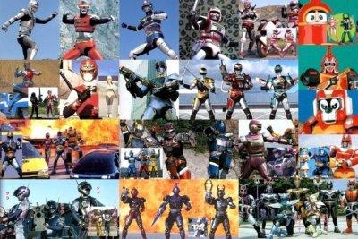 Nouveauté Sentai et Metal Heroes !!!!