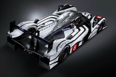 "ULTIME VERSION DE LA "" PEUGEOT 908  HYBRIDE 4 """
