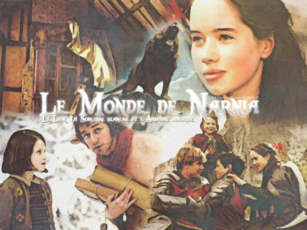 LE MONDE DE NARNIA CHAPITRE 1 : LE LION, LA SORCIÈRE BLANCHE ET L'ARMOIRE MAGIQUE      Créa - Texte
