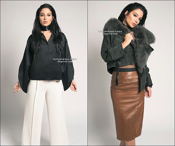 Le sublime photoshoot qu'a fait Tulisa pour le magazine Nylon.