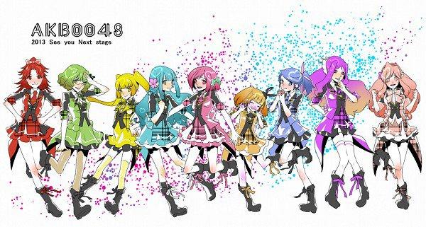 Connaissez-vous l'anime des AKB48 ? AKB0048 ?