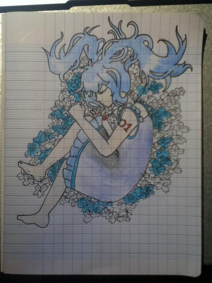 Hatsune Miku. #1 -Le Lit De Fleurs-