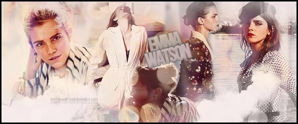 - ● ● ● Bienvenue sur Emma-Watson - ta source d'actu' sur la belle Emma Watson ! Vous pourrez ainsi en apprendre d'avantage sur la magnifique Emma Watson à travers divers supports médias regroupant des candids, events, etc...-