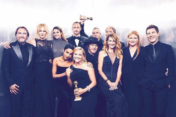 """7 Janvier 2018 - Shailene était au """"75th Annual Golden Globes Award"""". Les stars étaient toutes habillées en noir pour soutenir l'égalité homme/femme au travail."""