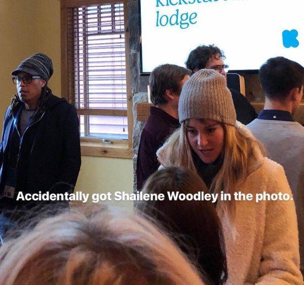 19 Janvier 2018 - Shailene Woodley était au Sundance Film Festival